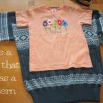 Eski Kazaktan Çocuk Elbisesi Yapılışı 2