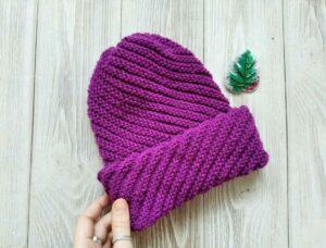 Kolay Spiral Şapka Nasıl Örülür? 6