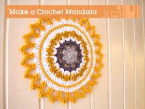 Mandala Örgü Motifleri
