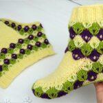 Örgü Çorap Patik Yapımı