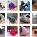 Örgü Kedi Evi Modelleri ve Yapılışı