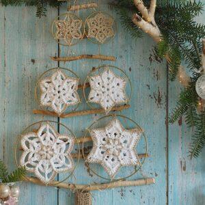 Örgü Motiften Kış Ağacı Yapımı 20