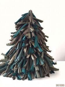 Penye İpten Çam Ağacı Yapımı 13