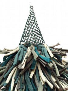 Penye İpten Çam Ağacı Yapımı