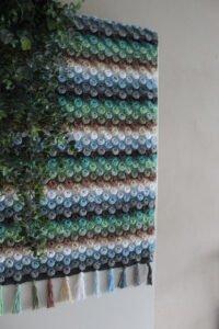 Tığ İşi Bebek Battaniyesi Yapımı 10
