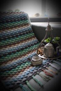 Tığ İşi Bebek Battaniyesi Yapımı 11