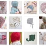 Bağcıklı Bebek Şapka Modelleri 86