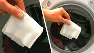 Çamaşır Makinesine Neden Islak Mendil Atmalıyız?