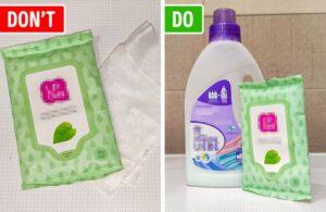 Çamaşır Makinesine Neden Islak Mendil Atmalıyız? 3
