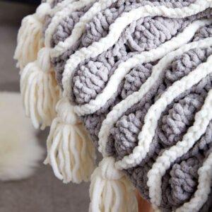 Kadife İpten Bebek Battaniye Modelleri Yapılışı 3