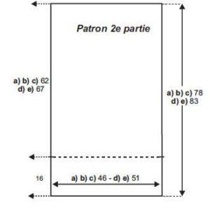 Örgü Panço Modelleri Açıklamalı
