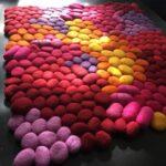 Parça Kumaşlardan Renkli Paspas Modelleri 26