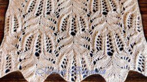 Şiş Örgü Çiçek Battaniye Modeli 1