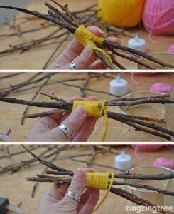 Ağaç Dalından Mumluk Yapılışı 7