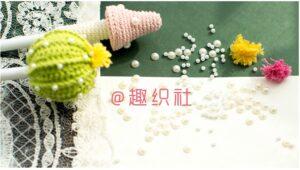 Amigurumi Saksıda Kaktüs Yapımı 8