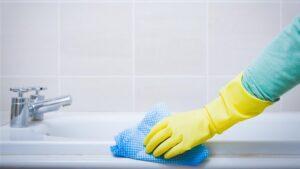 Bulaşık Parlatıcısı ile Banyo Temizliği 2