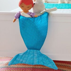 Deniz Kızı Oyuncak Çantası Dikimi