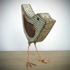 Kartondan Kuş Nasıl Yapılır? 8