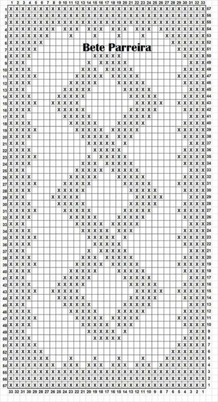 Penye İp Halı Modelleri ve Şemaları 16