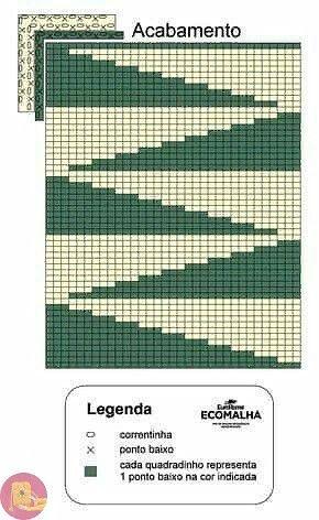 Penye İp Halı Modelleri ve Şemaları 31