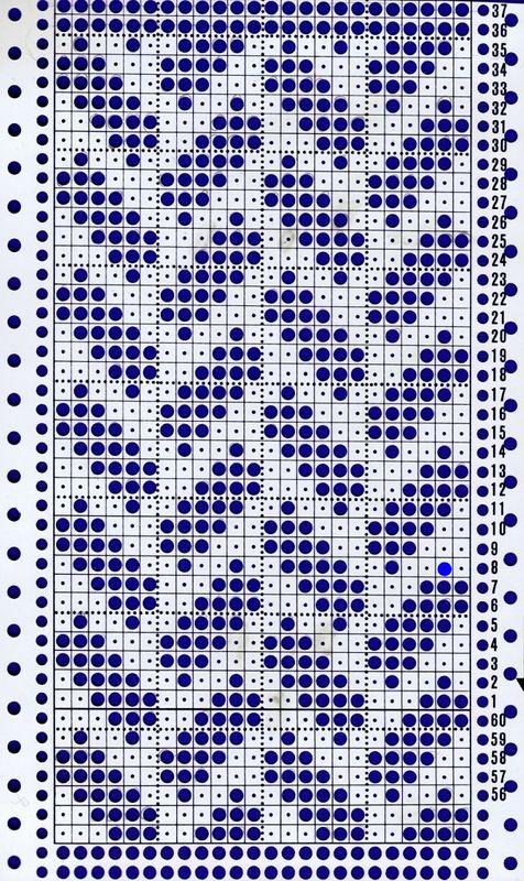 Penye İp Halı Modelleri ve Şemaları 37