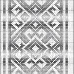 Penye İp Halı Modelleri ve Şemaları 40