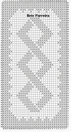 Penye İp Halı Modelleri ve Şemaları 44