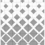 Penye İp Halı Modelleri ve Şemaları 46
