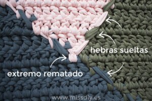 Penye İp Halı Modelleri ve Şemaları 64