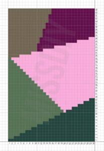 Penye İp Halı Modelleri ve Şemaları 66