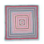 Tığ ile Renkli Bebek Battaniyesi 5