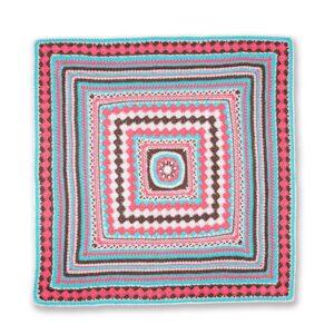 Tığ ile Renkli Bebek Battaniyesi