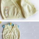 Yandan Düğmeli Bebek Yeleği Yapımı 6