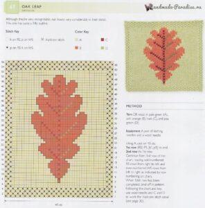 Yaprak Dökümü Battaniye Yapılışı 7