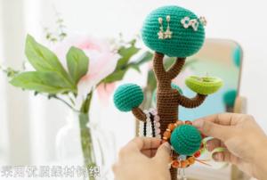Amigurumi Ağaç Yapımı 11