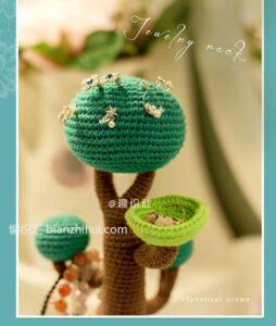 Amigurumi Ağaç Yapımı 1