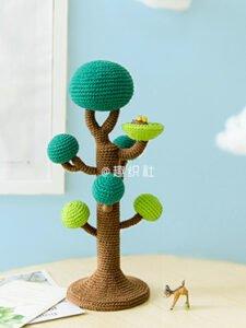 Amigurumi Ağaç Yapımı 6