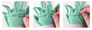 Amigurumi Çiçek Bebek Yapılışı 1