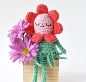 Amigurumi Çiçek Bebek Yapılışı