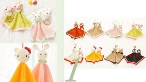 Amigurumi Hello Kitty Uyku Arkadaşı Tarifi 12