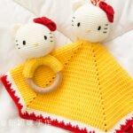 Amigurumi Hello Kitty Uyku Arkadaşı Tarifi 1