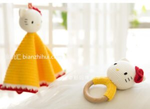 Amigurumi Hello Kitty Uyku Arkadaşı Tarifi