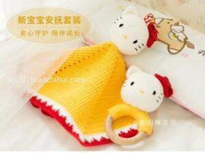 Amigurumi Hello Kitty Uyku Arkadaşı Tarifi 5