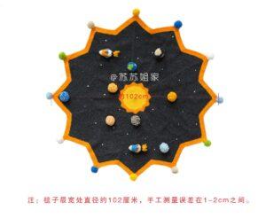 Amigurumi Uzay Temalı Battaniye Yapılışı 2