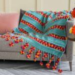 Çiçek Bahçesi Battaniye Yapılışı 3