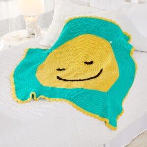 Gülen Yüz Battaniye Yapılışı