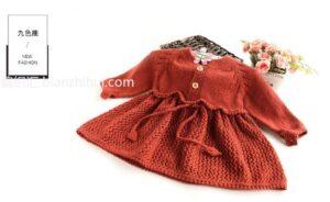 Örgü Bebek Elbise Modelleri ve Yapılışları