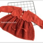 Örgü Bebek Elbise Modelleri ve Yapılışları 6