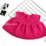 Örgü Bebek Elbise Yapımı 5