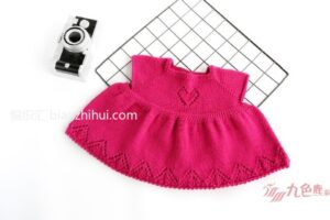 Örgü Bebek Elbise Yapımı